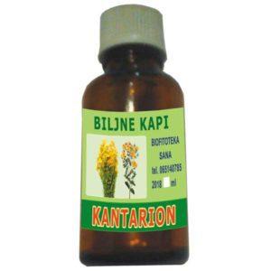 Biljne kapi od Kantariona