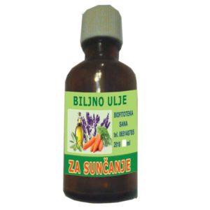 Biljno ulje za sunčanje