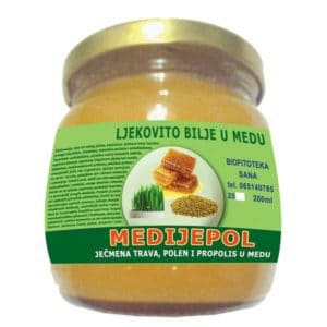 Medijepol - Ječmena trava, polen i propolis u medu
