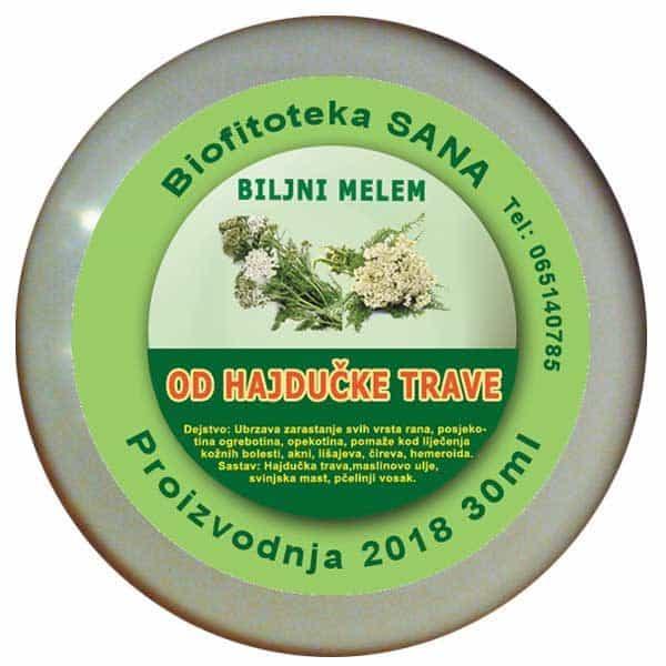 Biljni melem od Hajdučke trave
