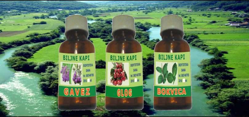Sirovine  za proizvodnju preparata od ljekovitog bilja