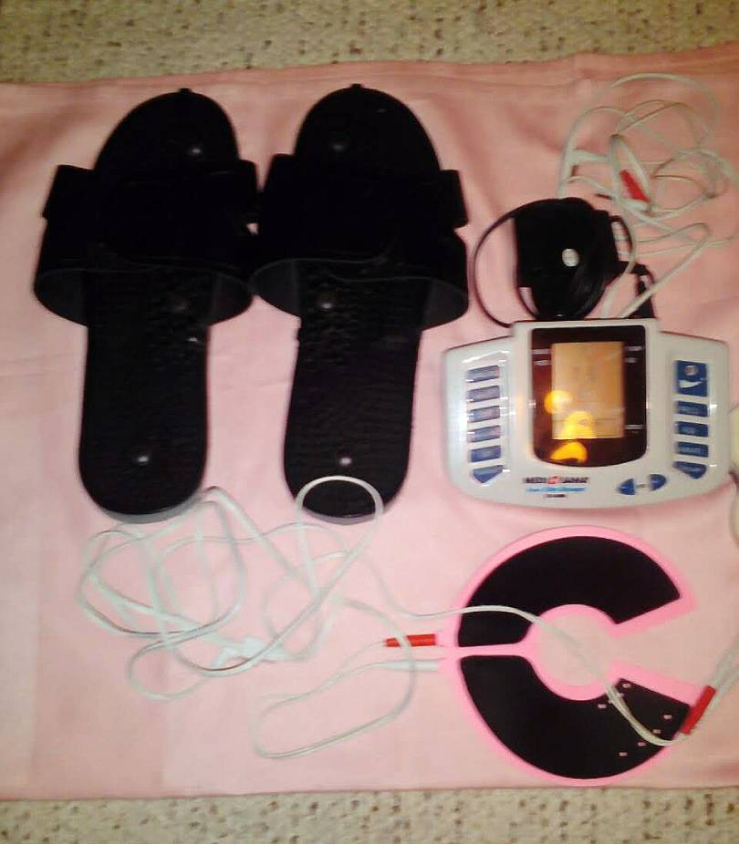 Elektronska masaža nogu